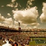 Tenis kort arena, prawie jak w Gubinie;)